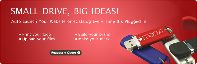 Promote With Custom USB Drives